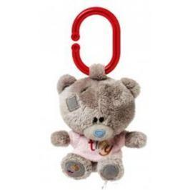 Me to You Tiny Tatty Teddy Medvídek pískátko v růžovém tričku 10 cm