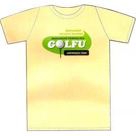 Nekupto Tričko Beznadějně propadlých golfu 1 kus béžové