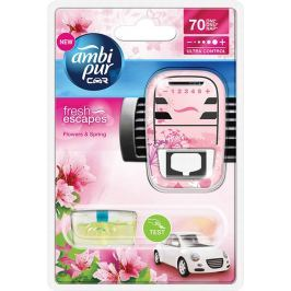 Ambi Pur Car Flowers and Spring kompletní strojek 7 ml