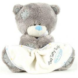 Me to You Tiny Tatty Teddy Hrací medvídek s dečkou 17,5 cm