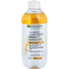 Garnier Skin Naturals Dvoufázová micelární voda 3v1 s olejem 400 ml