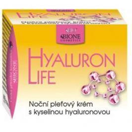 Bione Cosmetics Hyaluron Life s kyselinou hyaluronovou Noční pleťový krém 51 ml