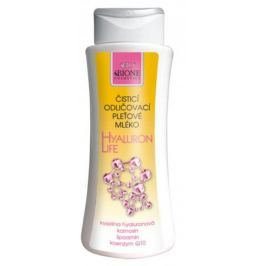 Bione Cosmetics Hyaluron Life s kyselinou hyaluronovou Čisticí odličovací pleťové mléko 255 ml
