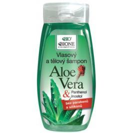 Bione Cosmetics Aloe Vera & Panthenol šampon na vlasy 250 ml