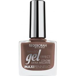 Deborah Milano Gel Effect Nail Enamel gelový lak na nehty 57 Cinnamon Suede 11 ml