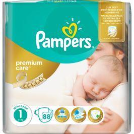 Pampers Premium Care 1 New Baby 2-5 kg plenkové kalhotky 88 kusů