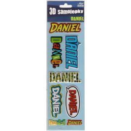 Nekupto 3D Samolepky se jménem Daniel 8 kusů 020
