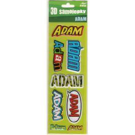 Nekupto 3D Samolepky se jménem Adam 8 kusů 013