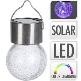 PROGARDEN Lampa solární žárovka na zavěšení 6 cm KO-DX9200390