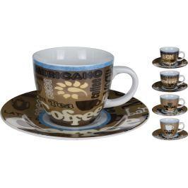 EXCELLENT Hrnek s podšálkem 220 ml coffee KO-Q75000650