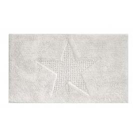 KELA Koupelnová předložka LINDANO 60x100 cm bílá KL-21130
