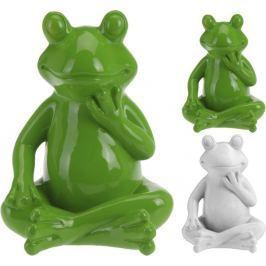 PROGARDEN Zahradní dekorace žába střední 21 x 16 cm KO-795200340
