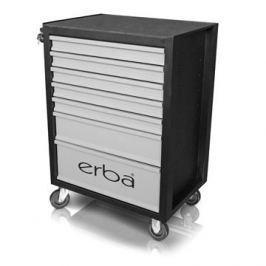 ERBA Dílenský vozík 7 uzamykatelných zásuvek, bez nářadí ER-14208
