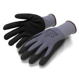 ERBA Pracovní rukavice M nylonové potažené nitrilem ER-55099