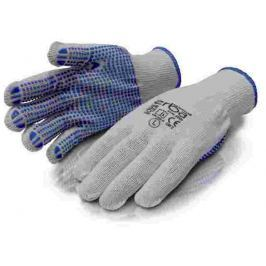 ERBA Pracovní rukavice M polyesterové s PVC nopy ER-55083
