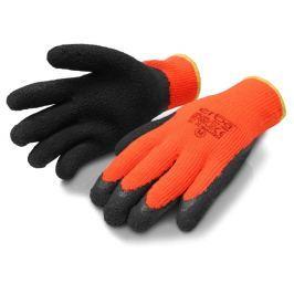 ERBA Pracovní rukavice M akrylové potažené latexem ER-55059