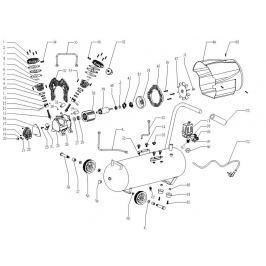 ERBA Zpětný  ventil pro ER-17012 ER-17012zpve