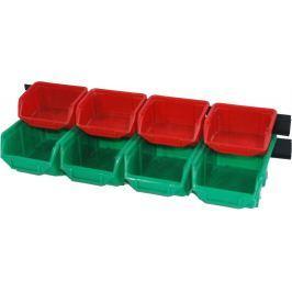 ERBA Zásobníky plastové sada 8 ks ER-02207