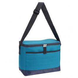 Chladící taška skládací 10 l světle modrá