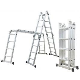 Hliníkové štafle GA-SZ-4x4-4,6 m multifunkční