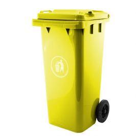 Popelnice plastová 240 litrů GA-240, žlutá