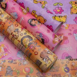 Balicí papír, pro dívky, 3 archy