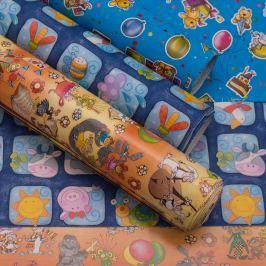 Balicí papír, pro chlapce, 3 archy