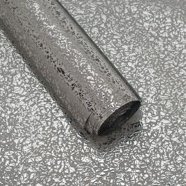 Luxusní strukturovaný balicí papír, stříbrný, lesklý