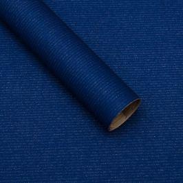 Balicí papír, natura, tmavě modrý
