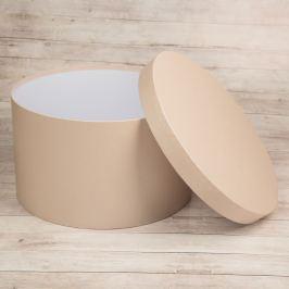 Dárková krabice Lucie, krémová perláž