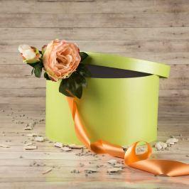 Dárková krabice Lucie, světle zelená