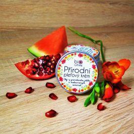 Přírodní krém pro citlivou pleť - Olej z granátového jablka a melounových semínek