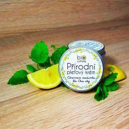 Pleťový krém na mastnou pleť - Citronová meduňka, bio chia olej