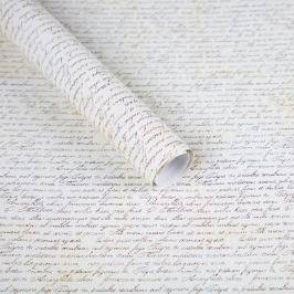 Balicí papír, motiv písmo