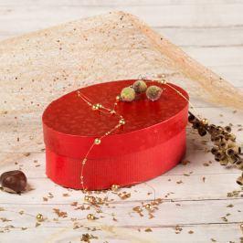 Dárková krabice Barbora 4, červené komety Vánoce