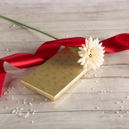 Dárková krabice Míla, zlaté vločky