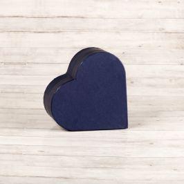 Dárková krabice Lina, modrá natur velikosti krabice Lina: 2 - 10,3x9,5x4 cm