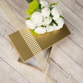 Dárková krabice Míla, zlatý natur