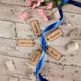 Dřevěné jmenovky na dárek Vyberte si jméno: Vojtěch
