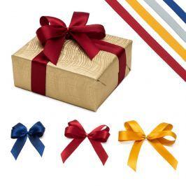 Mašle na dárek - čtyřoká Vyberte si velikost mašle: S - 6 cm, Vyberte si barvu mašle: červená