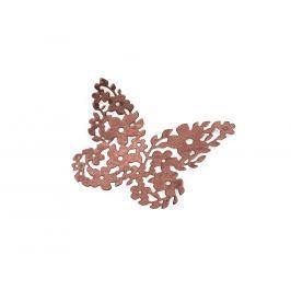 Dekorace kytičkový motýl Vyberte si barvu dekorace: hnědá