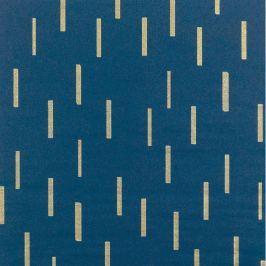 Designový balicí papír modrý