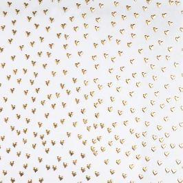 Designový balicí papír se srdíčky