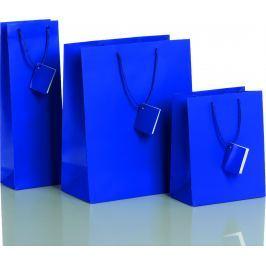 Dárková taška modrá Vyberte si druh tašky: taška střední - 18 x 10 x 22,7 cm