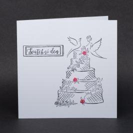 Přání pro novomanžele - Svatební den