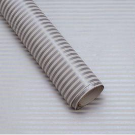 Balicí papír, stříbrno-bílý proužek