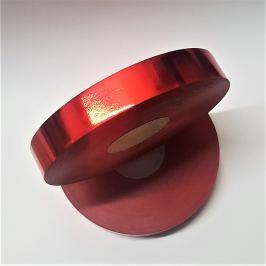 Kotouč plastové stuhy, lesklá, červená